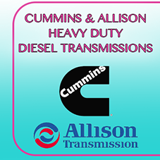 Cummins and Allison Heavy Duty Diesel Transmissions